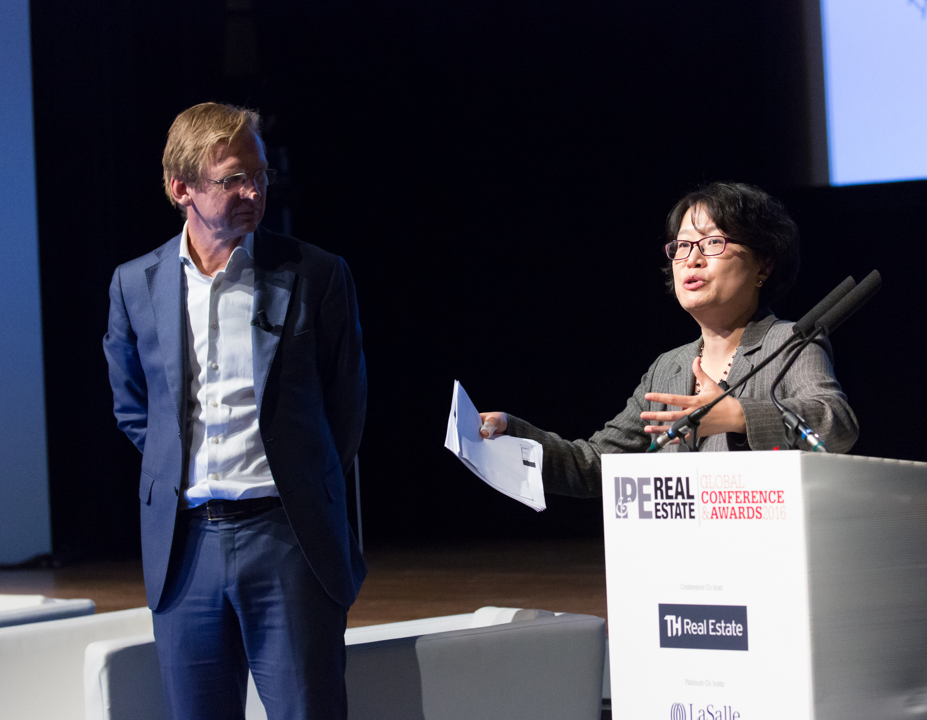IPE RE Global 2016 - June Lee, Piet Eichholtz