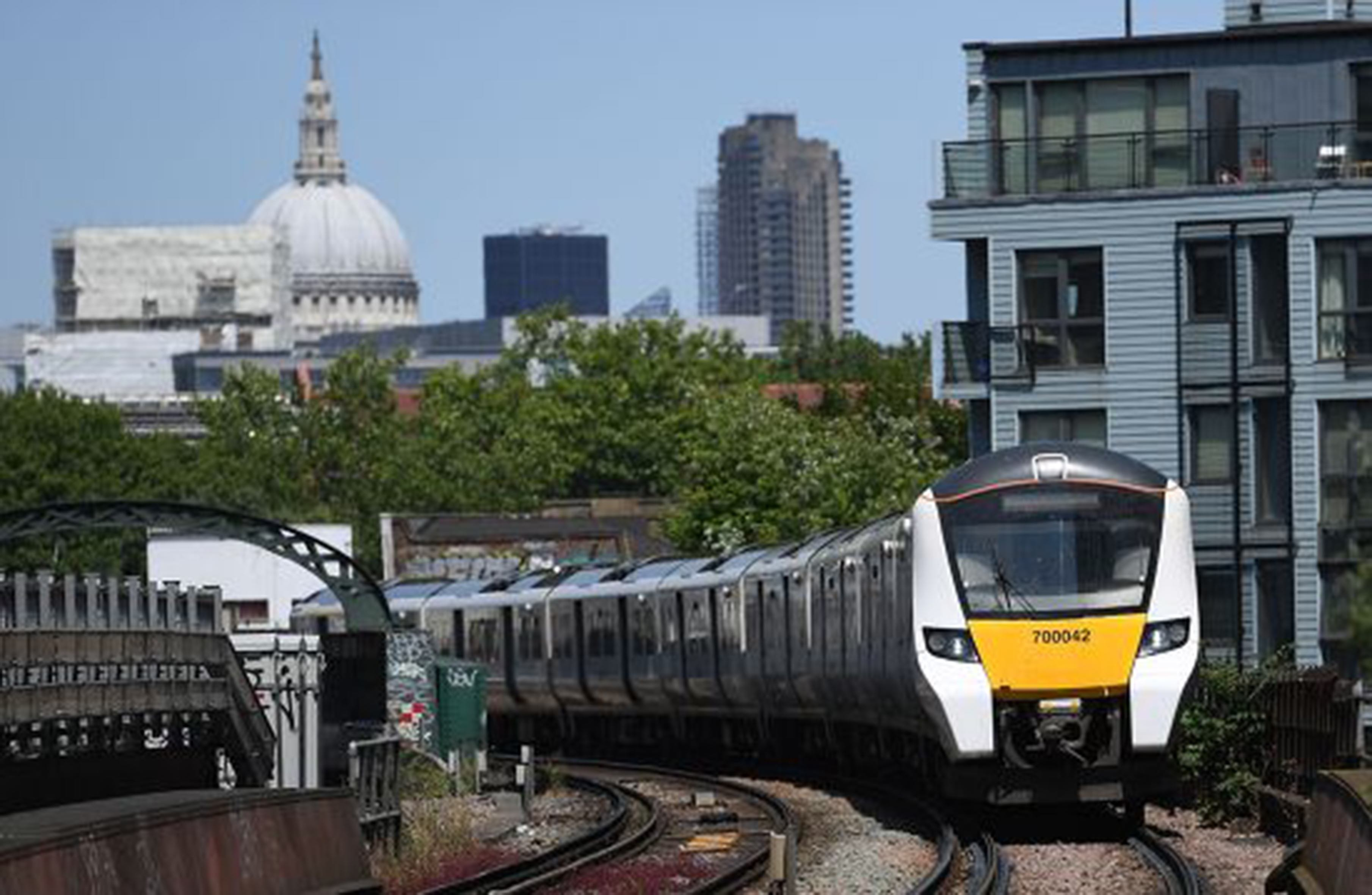 Govia Thameslink train, London