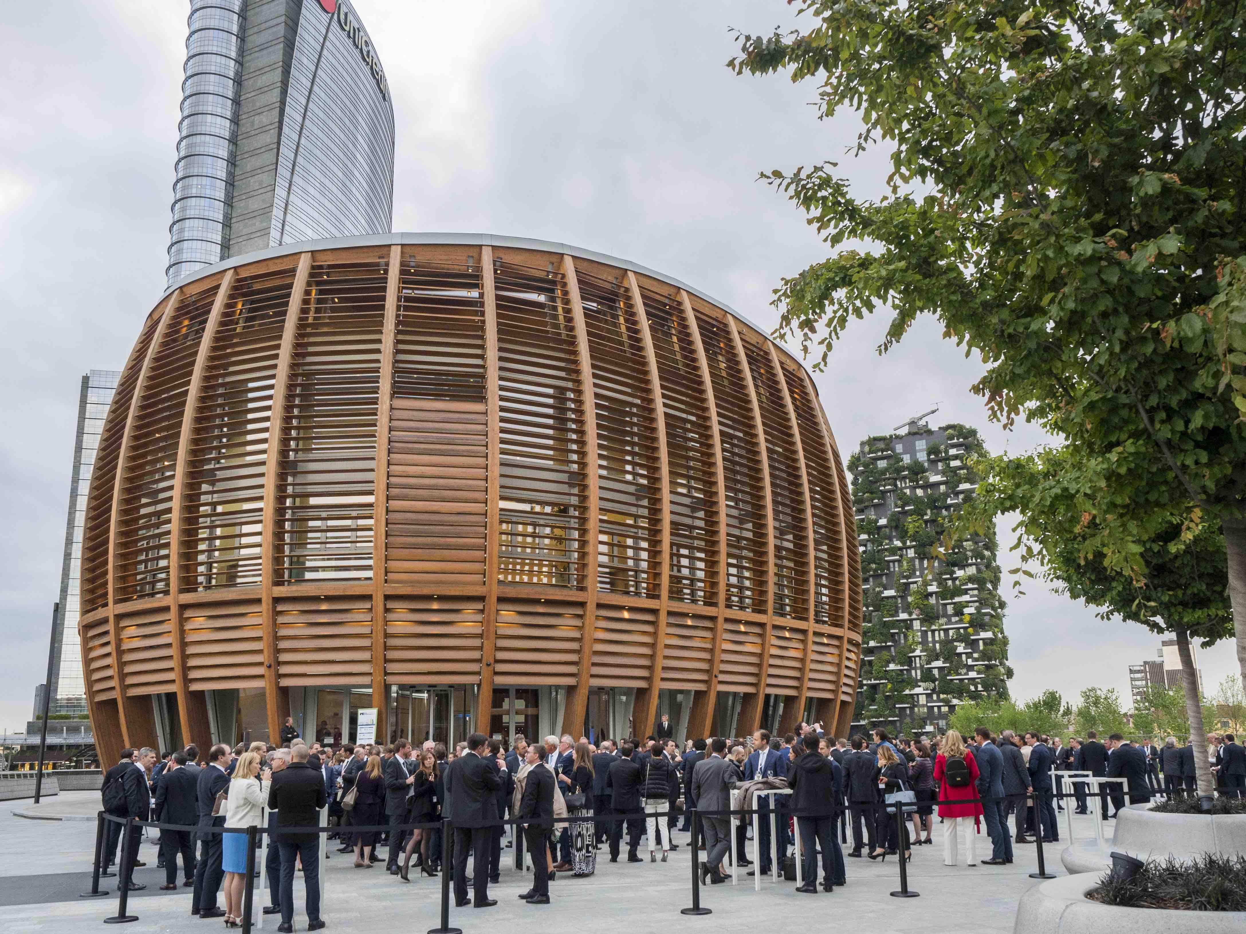 IPE Real Estate Awards 2018 at the Unicredit Pavilion, Milan