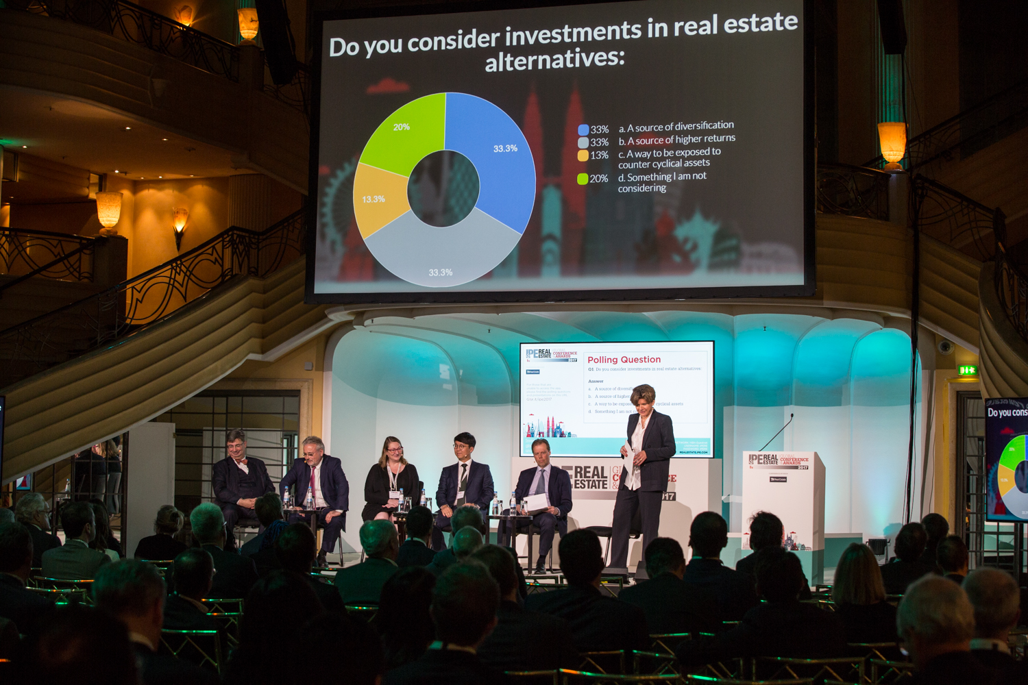 Real asset panel, IPE Real Estate Global Conference & Awards 2017
